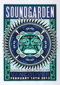 Image of SOLD OUT - Soundgarden - Vancouver - Silkscreen Poster - Canucks/Seahawks Varient