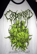 Image of CONDEMNED Internally Devoured Baseball shirt Green