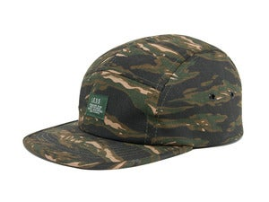 Image of LESS - Simple Logo Camp Cap(Tiger Stripe-Brown)