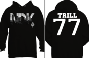 Image of NDK Trill 77 Hoody (Black)/ Inspired By Pyrex Vision/ Free Shipping!