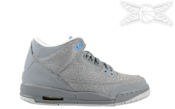 Image of Girls Jordan 3 Retro GS