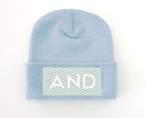 Image of Pastel Wave AND Beanie