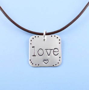 Image of NEW! Love Squared Necklace