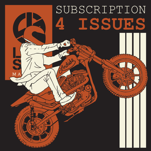 Image of Subscription - NEW LOWSIDE Magazine 4 issues