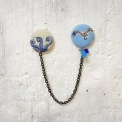 Image of Chapas dobles Deep Sea ♥ Deep Sea double pins