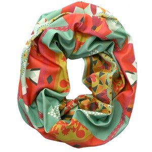 Image of Mystic. Single Loop Infinity Scarf