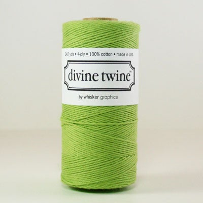 Image of Green Solid Divine Twine