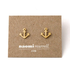 Image of Anchor Studs | Golden