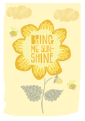 Image of Bring Me Sunshine Print - Available in 3 sizes