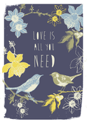 Image of Love is All You Need Print - Available in 3 sizes