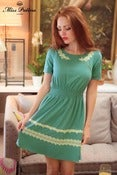 Image of Edelweiss Dress (powder green)