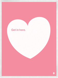 Image of Get In Here - Pale Pink No.2 Print