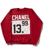 Image of #PlusTax:Chanel Red Crewneck Sweatshirt