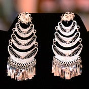 Image of Filigree earrings