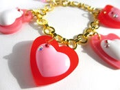 Image of Valentine Candy Crunch bracelet