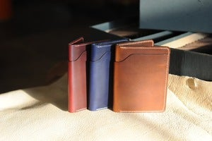Image of Fat Herbie Bifold Wallet - Cavalier Chromexcel