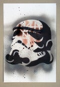 Image of 'Trooper Grey' - Stencil
