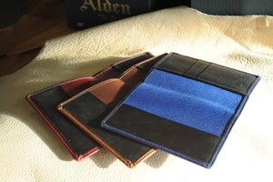 Image of Richie the Boot - Cavalier Chromexcel Passport Holder