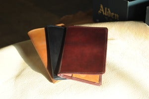 Image of Richie the Boot - Shell Cordovan Passport Holder
