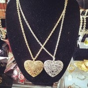 Image of Heart Necklace Set 