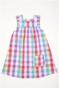Image of Marcia Dress - rainbow plaid