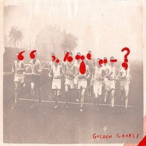Image of  GOLDEN GRRRLS cassette version of debut LP on NIGHTSCHOOL / SLUMBERLAND