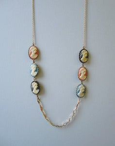 Image of The Portrait Gallery Cameo Necklace