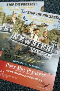 "Image of ""Newsies"" UNSIGNED POSTERS!"