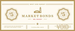 Image of PROMOTION - Market Bonds (limit one promotion per customer)