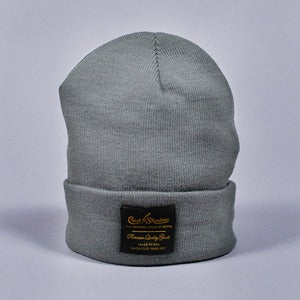 Image of Gold Label Beanie (Heather Grey)
