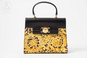 Image of Gianni Versace purse Barocco print :: vintage Bags/Travel