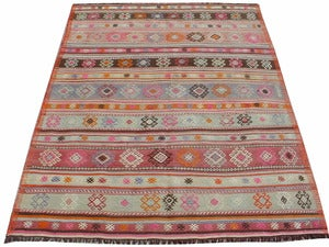 "Image of ""Minty Fresh"" Kilim"