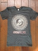 Image of *LIMITED EDITION* Loveway Records Logo- Grey/Grey/Red