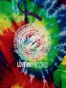 Image of *NEW* Loveway Records Tie-Dye Hoodie
