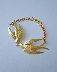 Image of Always Around Bird Bracelet