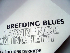 Image of Lawrence Ferlinghetti  Breeding blues