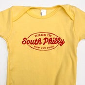 Image of Made In South Philly One-Piece (Yellow)