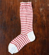 Image of Red Striped Socks