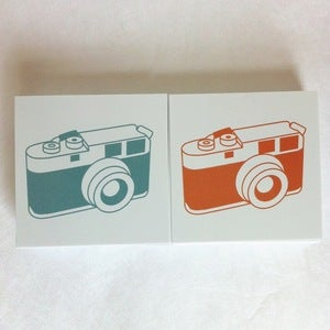 "Image of RANGEFINDER Stickers 2"" x 2"""
