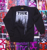 Image of Drip Sweater Black