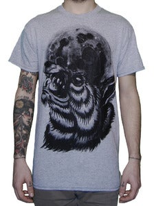 Image of NOYZ NARCOS &quot;Wolf&quot; t shirt sport grey
