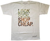 Image of Look Rich Shop Cheap Tee