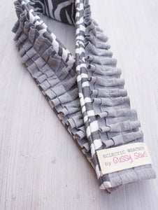 Image of Zebra Stripe camera strap slipcover