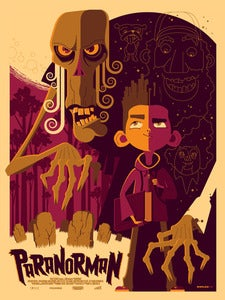 Image of &quot;paranorman&quot; AP screenprint