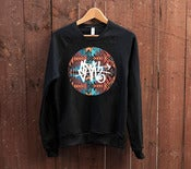 Image of Aztec SLOTH Tag Black Crew Neck 