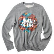 Image of Aztec SLOTH Tag Grey Crew Neck