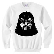 Image of SLOTH Vader White Crew Neck Sweater