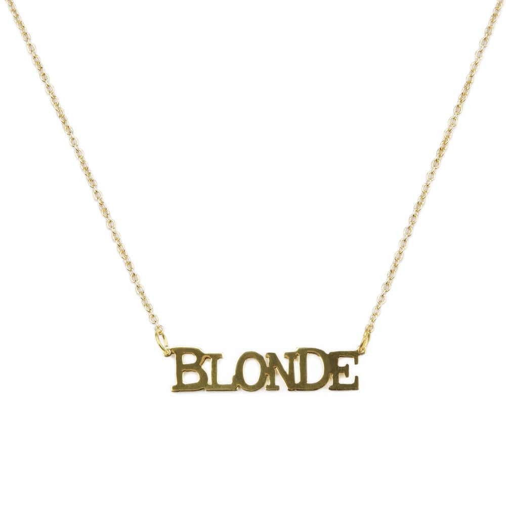 Collier Blonde - Flicie Aussi