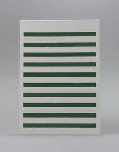 Image of Stripetown Green card 