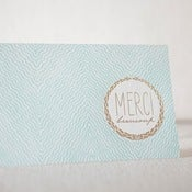 Image of MERCI beaucoup Card